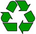the universal recycling symbol is a M�bius strip