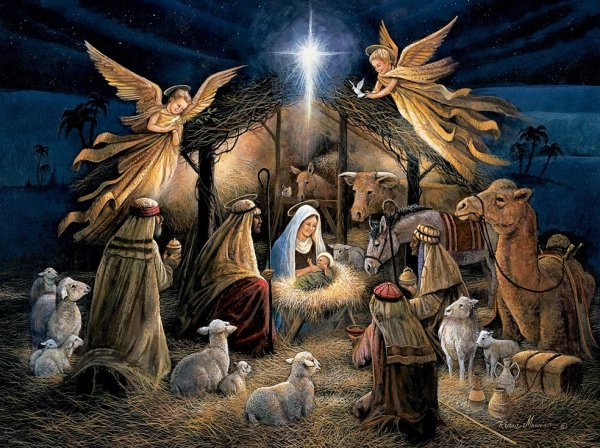 Christmas Shepherds.The Story Of Christmas That Should Be Told